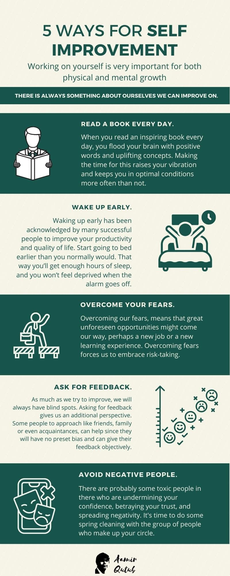 5-ways-for-self-improvement-Infographic